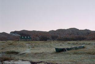 Sandy's Canoe at Peanmeanach Bothy