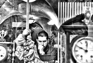 La vetrina dell'orologiaio