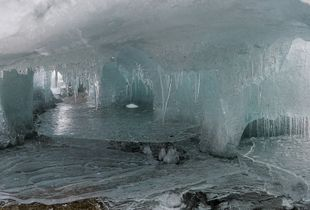 Ice Palace, Lake Hoare, Antarctica