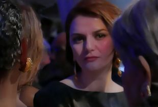 face at the gala.