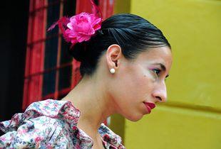 A Woman Tango Dancer