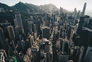 Wanchai by air
