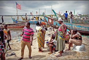 Fante Beach, West Point, Monrovia
