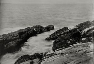 """Winslow Homer's View 1."" 8x10""  Wet-plate collodion tintype. © 2012 Keliy Anderson-Staley"