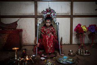 The Living Goddess of Nepal