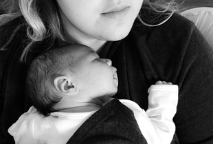 unconditional love: mother and baby