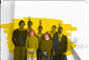 Le Damas des autres - family portrait