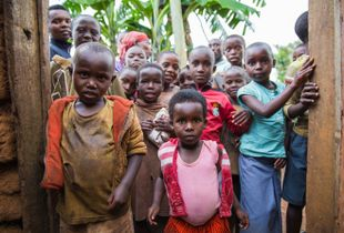 Rwandan Children (Category - Portrait)