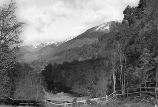View from River Affric Car Park