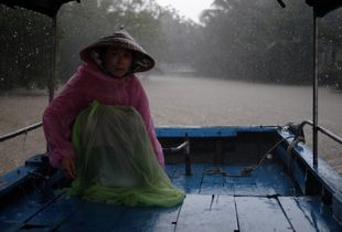 Monsoon at Mekong Delta