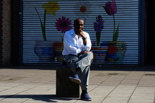 Southwark Road portrait.