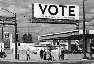 Vote. Phoenix, AZ. 2018.