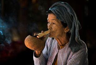 Old Bagan Woman