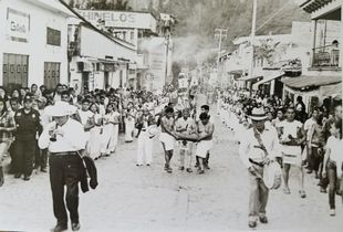 Re-enactment procession