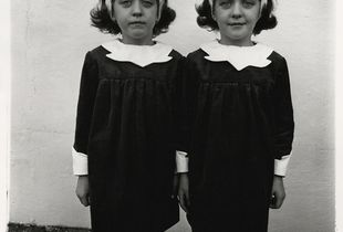 Identical twins, Roselle, N.J., 1967, © The Estate of Diane Arbus LLC, Courtesy Jeu de Paume