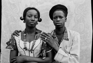 Untitled, 1949/51 © Seydou Keïta / SKPEAC / courtesy CAAC - The Pigozzi Collection, Geneva
