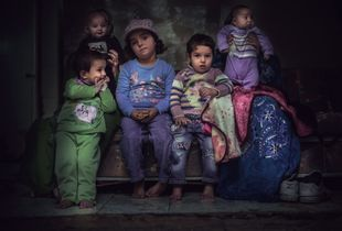 Portrait of a Syrian Family
