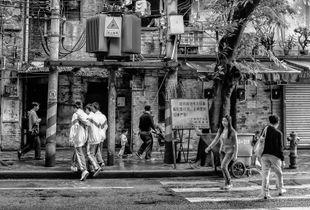 Street Crossing II