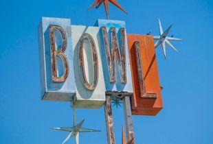 Vintage Neon Bowl, Study 2