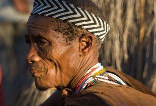 San Bushman, Kalahari Desert