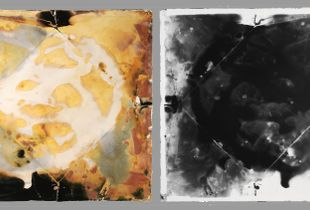 Paper Camera, Small_07 / Positive of PCS_07, Gelatin Silver, 2012 © Ross Faircloth