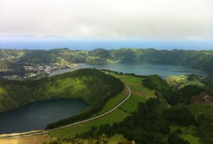 Açores, Sao Miguel, Lagoa do Fogo