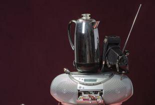 Tech Vanitas: Gray Typewriter