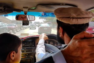 Taxi driver in Kabul