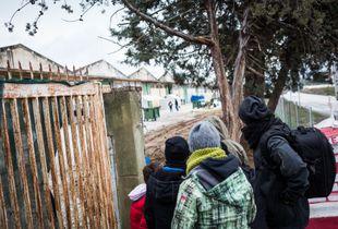 Vasilika, la entrada clandestina de los voluntarios