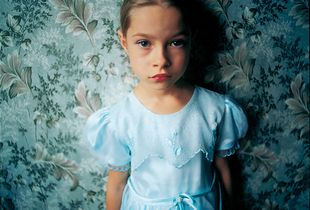 Jenya in my Hotel Room, Ukraine, 2005, from Strangely Familiar by Michal Chelbin, Aperture 2008 © Michal Chelbin