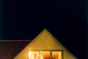 Our House at Night, Self Portrait with Doug. Camden, Maine, 2006. © Cig Harvey.