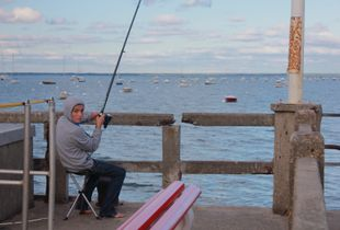 Fishing in Arcachon