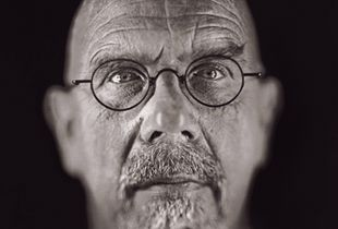"Chuck Close by Chuck Close. From ""A Couple of Ways of Doing Something"" (Aperture, 2006)"