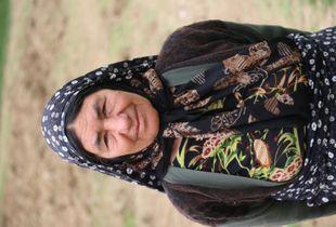 Iranian old woman