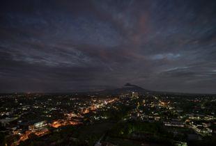 Mount Merapi, north of Yogyakarta