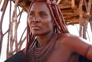 Himba Headwoman