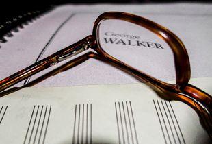 Composer George Walker's glasses