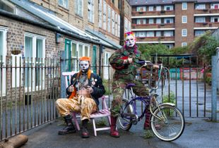Urban Drag Clowns - Toni and Tutti (Deptford, South East London).