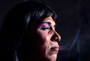 "Reyna Patricia become HIV-positive 6 years ago. ""It was the worst news I could get."" © Meeri Koutaniemi"