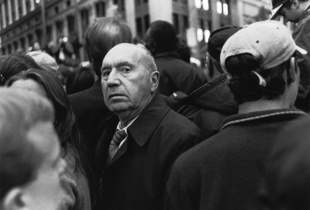 Man Close, Others Turned Away. Finalist, LensCulture Street Photography Awards 2015.