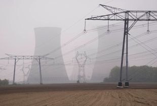 Nuclear Power Station Cooling Towers, Dampierre, France © Gina Glover