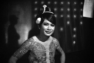 Khin Hlaing, a famous Burmese comedian who is mostly known throughout the country of Myanmar for his movie roles.