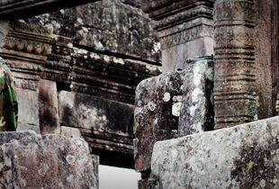 Khmer Soldier at Preah Vihear