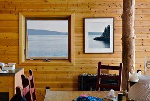 Breakfast, John's Island, WA                     © Karen Strom