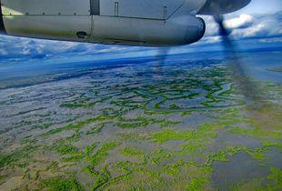 Casamance vue du ciel