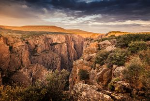 Black Canyon of the Gunnison River, Colorado, USA.