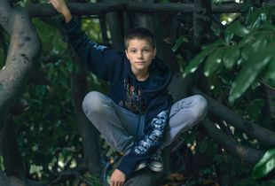 Zak, 13,  Isle of Wight. England. Transgender boy.