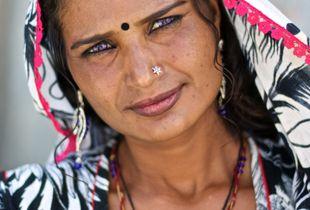 Gypsy. Pushkar, India. 2016.