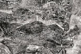 Diorama Map Rio de Janeiro © Sohei Nishino/Courtesy of Michael Hoppen Contemporary