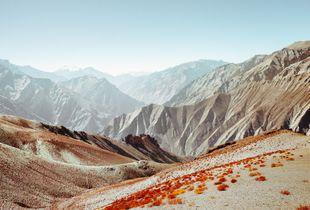 Zanskar Mountain Range, Himalayas